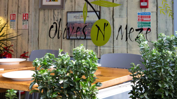 Restaurant - Olive N Meze, London