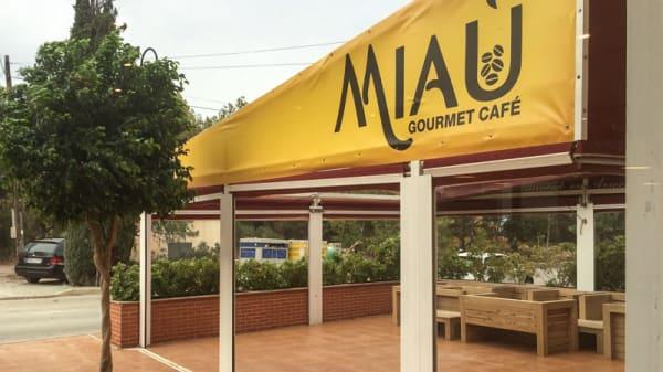 Fachada - Miau Gourmet Café, Altea