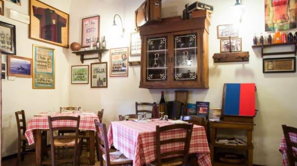 La sala - Da Giampi e Ciccio, Bologna
