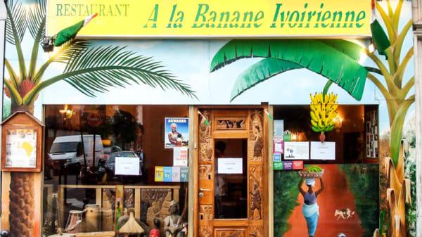 Le restaurant - A la Banane Ivoirienne, Paris