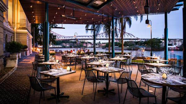 Terrace - Patina Restaurant at Customs House, Brisbane (QLD)