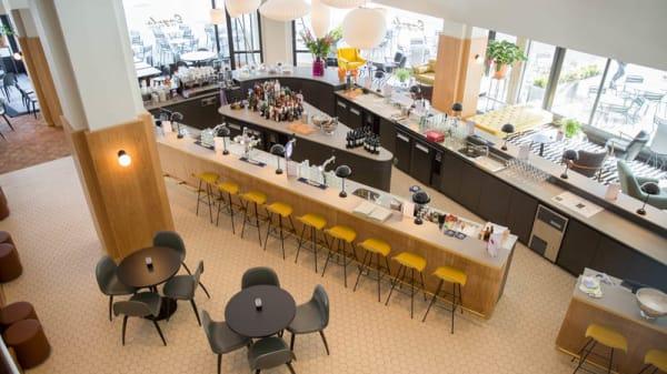 Het restaurant - Bar Brasserie Engels, Rotterdam