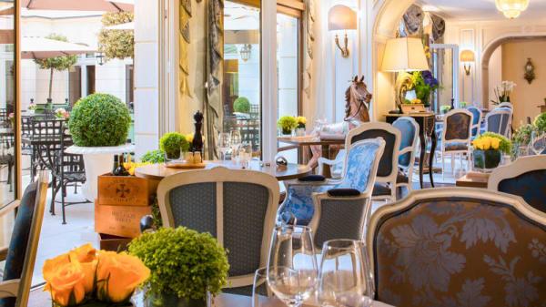 Vue salle - Le Jardin d'Hiver, Chantilly