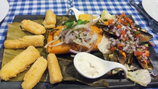 Sugerencia del chef - La Mar Brava, Santander
