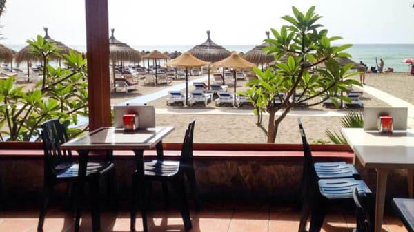 Vista del restaurante - Chiringuito La Jábega, Torremolinos