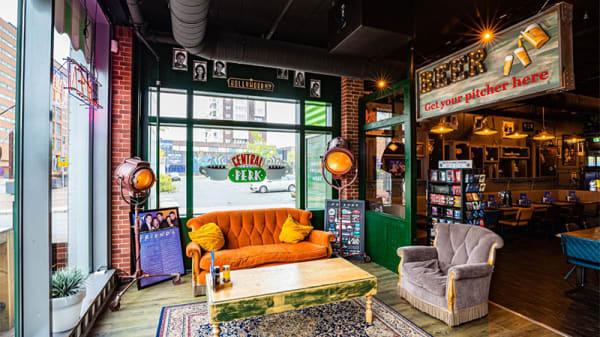 Het restaurant - Hollywood cafe Rotterdam, Rotterdam