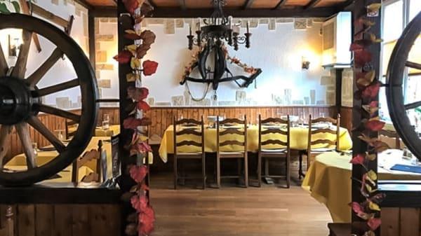 Salle du restaurant - La Terrasse, Bussigny