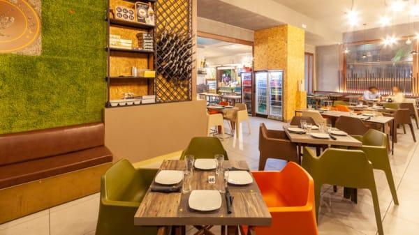 Vista sala - Cosmopolitan Lounge Bar&Bistrot (Volla), Volla