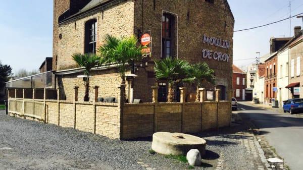 Extérieur - Le Moulin de Croy, Condé-sur-l'Escaut