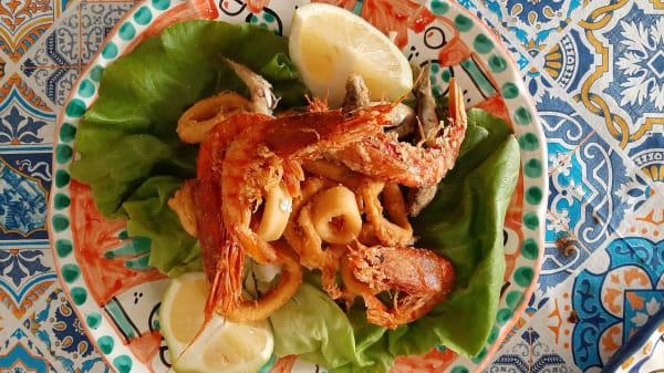 Fritto misto di pesce - La Taverna di Masaniello, Amalfi
