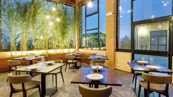 Vista sala - La Maison du Gourmet, Coloreto
