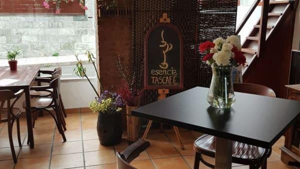 Sala del restaurante - Esencia Tascafé