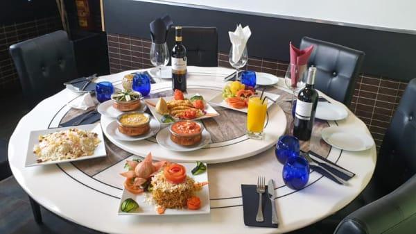 Vista mesa - DK Catering, Alcobendas