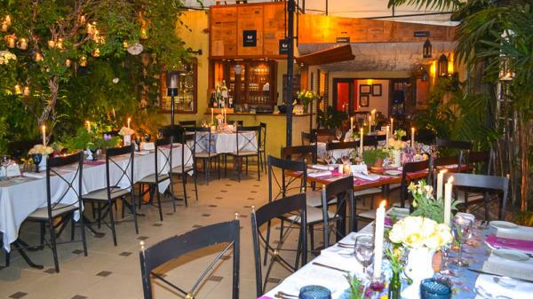 Sala do restaurante - Rosmarino, São Paulo