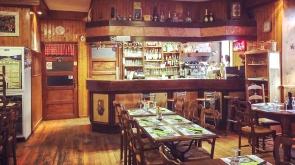 Salle du restaurant - Restaurant La Galine à Mieussy, Mieussy