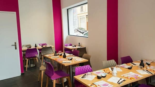 Salle de restauration - Mika Sushi Jean Macé, Lyon