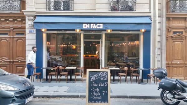 En Face - En Face, Paris