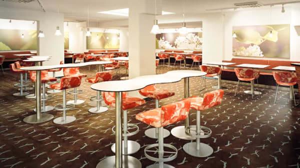 Restaurangens rum - Scandic S:t Jörgen, Malmö
