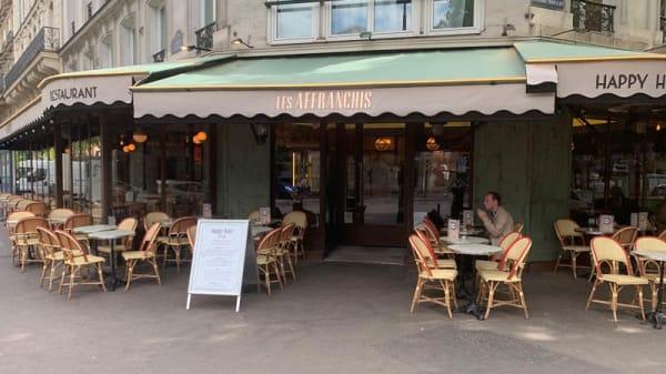 Entrée - Les Affranchis, Paris