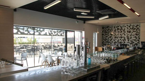 Vue de la salle - Brasserie La Terrassa, La Ciotat