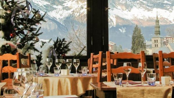Vue salle - A La Table du Liberty, Saint-Gervais-les-Bains