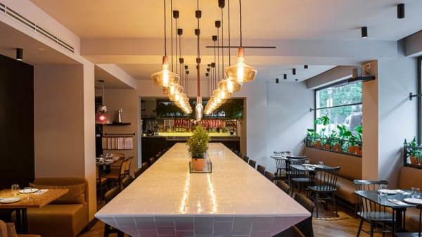 Vista da sala - BOS 54 Steak Bar, Estoril