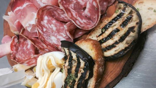 Suggerimento antipasto - Café Bistrot, Siena