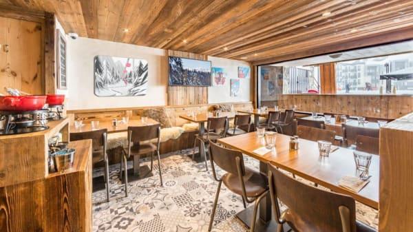 Salle du restaurant - Aux Diables au Thym, Tignes