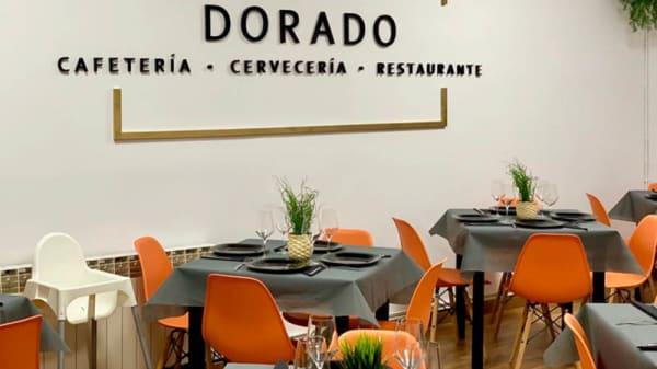 Plato - Restaurante dorado, Soria
