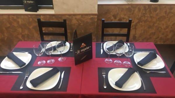 Vista mesa - La Esquina - Tres Cantos, Tres Cantos