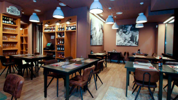 vista sala - Via Napoli Restaurant and Pizzeria, Barcelona