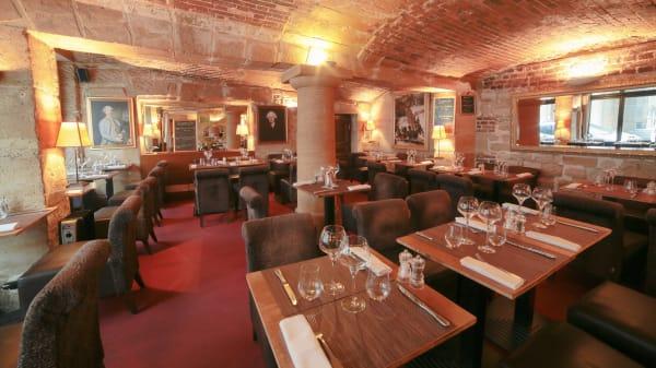 salle du restaurant A Casaluna - A Casaluna, Paris