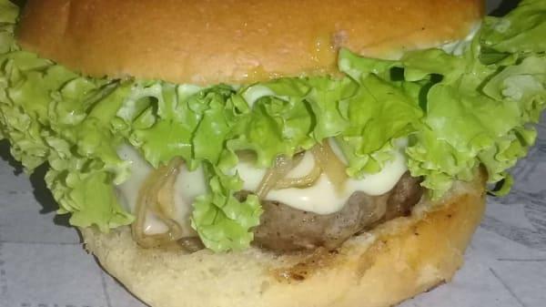 Cheese Salada - Gordão Panqueca & Burger, São Paulo