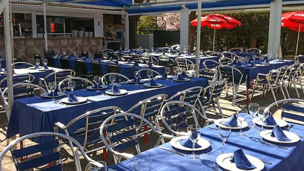 Vista terraza - Terraza Casino de Mingorubio, Madrid