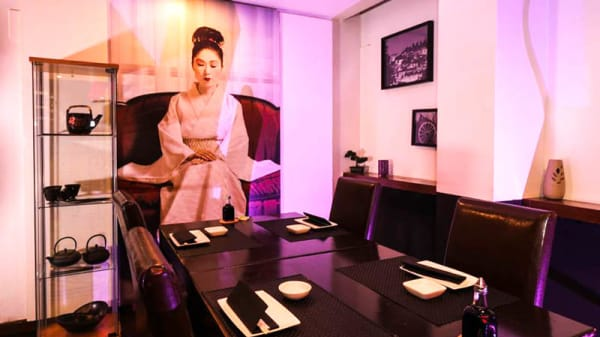 Vista da sala - Sushi Toro, Carcavelos