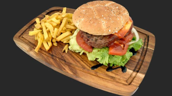 Burger Charolais XL 180g - Le Churrasco Nemours, Nemours