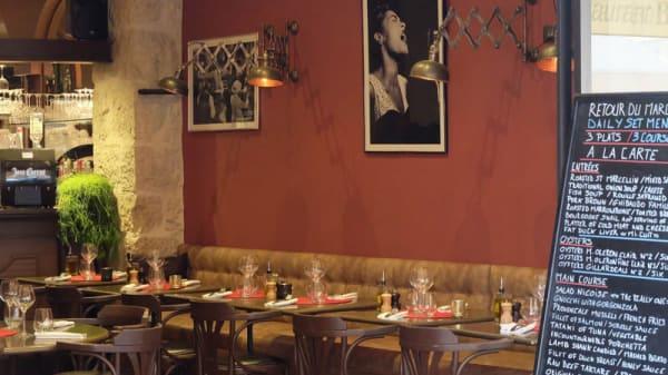 Salle du restaurant - Le Bistro Dalpozzo, Nice