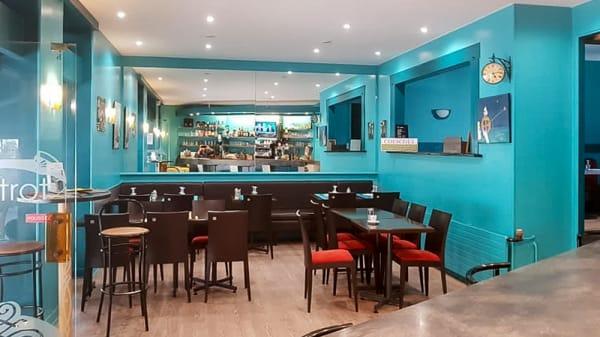 Salle du restaurant - L'Astrolabe Café, Condé-en-Normandie