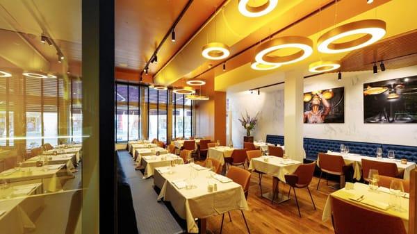 Het restaurant - Senses Restaurant, Amsterdam