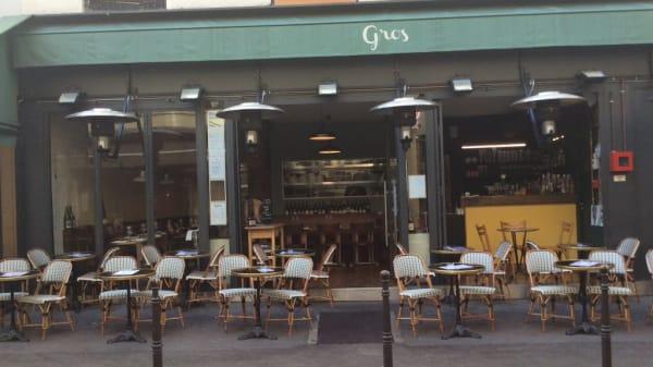 terrasse - Gros, Paris