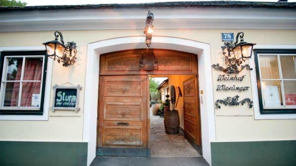 Eingang - Heuriger Wieninger, Wien