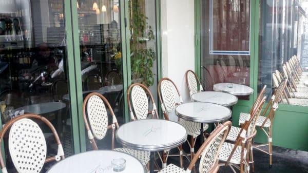 Terrasse - Le Sancerre, Paris