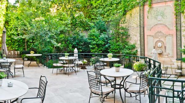 Terraza - El Jardín de Orfila por Mario Sandoval  -  Hotel Orfila, Madrid