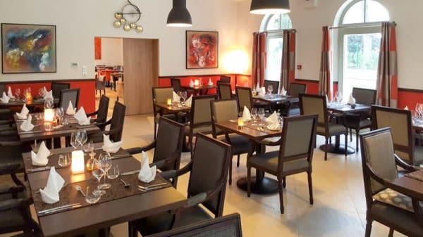 Vue de la salle - Café Vauban - Castel Maintenon, Maintenon