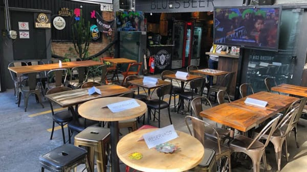 Vista da sala - Blues Beer, São Paulo