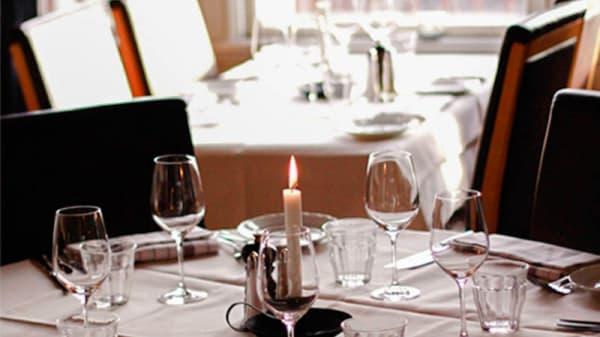 Dining room detail - Villa Tottebo, Åre