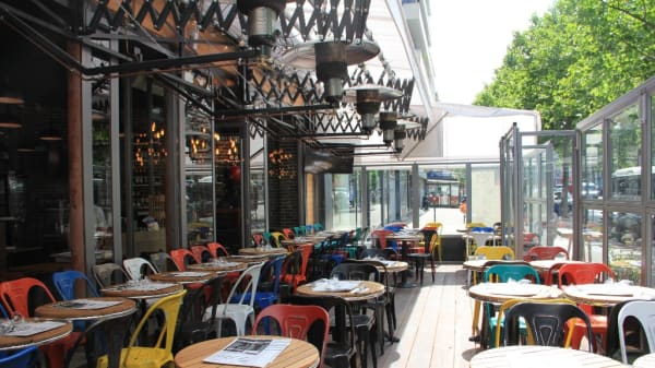 Terrasse - Dream Café, Paris