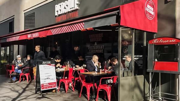 Terrasse - Persillé 13ème, Paris-13E-Arrondissement