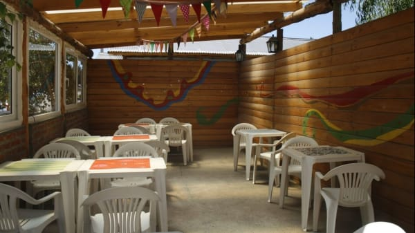 Vista del interior - Sigmund Restaurante, Junín de los Andes