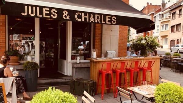 Entrée - Jules & Charles, Woluwe-Saint-Pierre